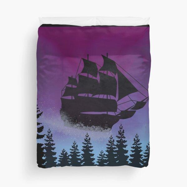 Let Your Dreams Set Sail Duvet Cover