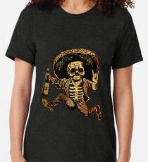 Camiseta de tejido mixto Día de los muertos Posada