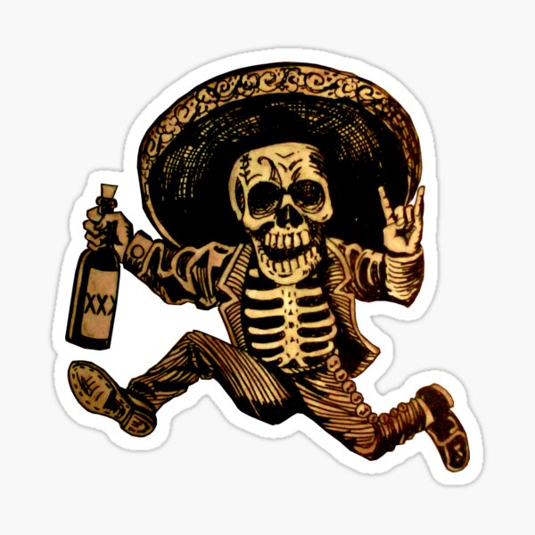 Day of the Dead Posada Sticker