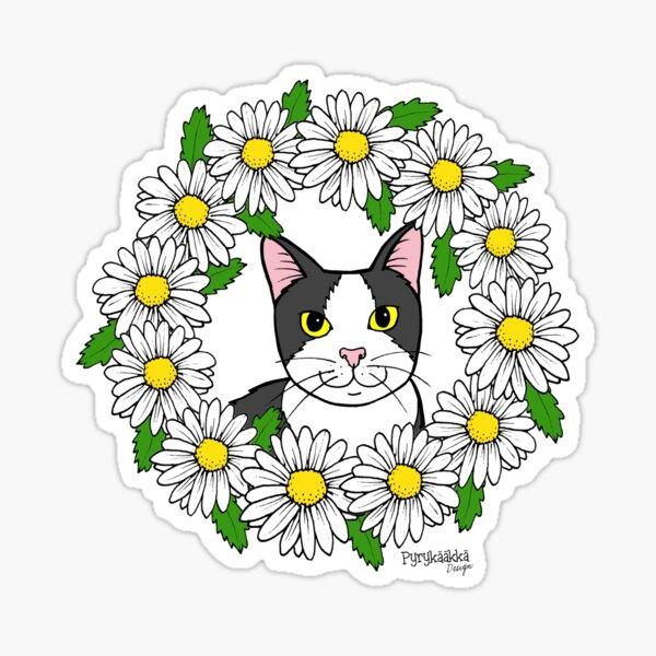 Flora the Cat Sticker