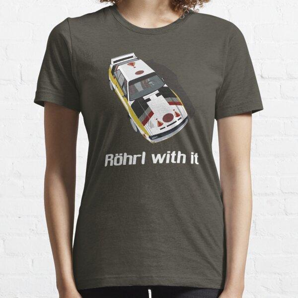 Röhrl con eso Camiseta esencial
