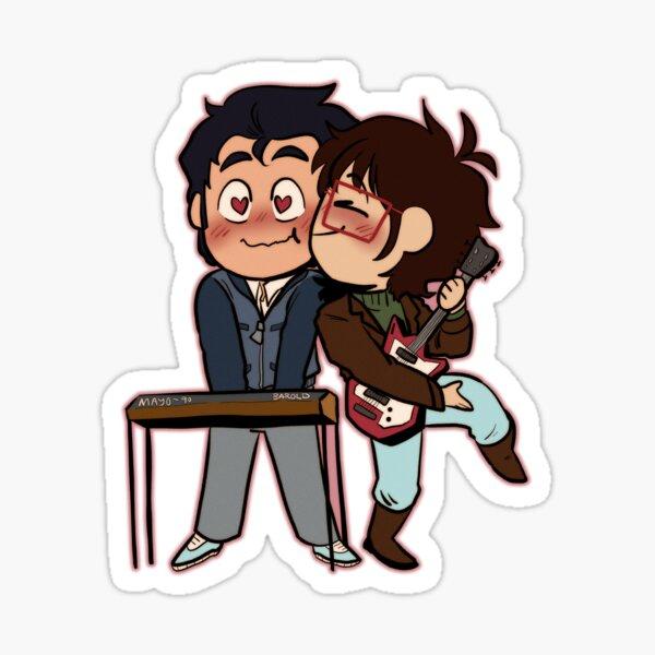 Ryan et Min / Rymin Ryan kiss Sticker - Infinity Train : Tome 4 Sticker