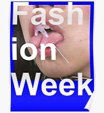 Fashion Week - Death Grips Poster