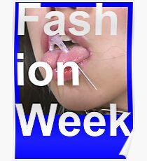 Póster Semana de la Moda - Death Grips