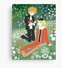KenHina x Moomin  Canvas Print