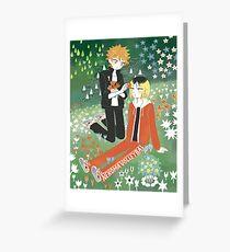 KenHina x Moomin  Greeting Card