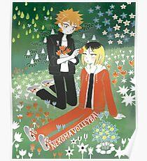 KenHina x Moomin  Poster