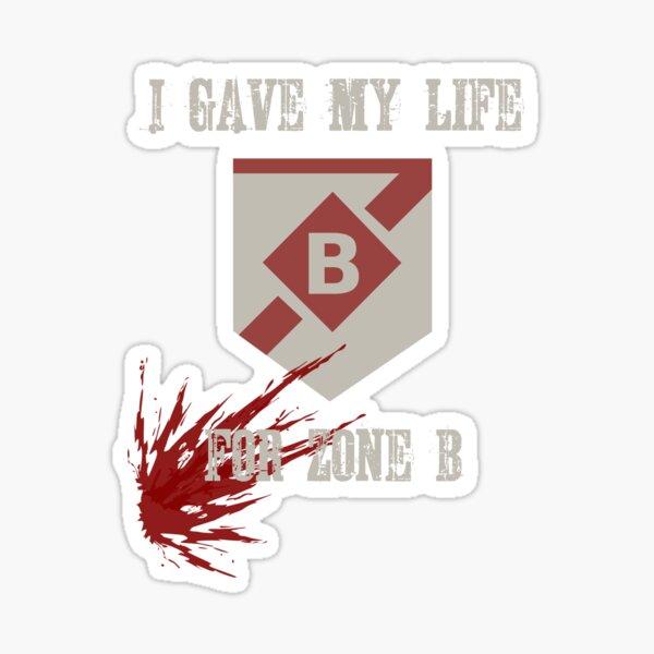 B-Linie Sticker