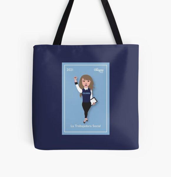 La Trabajadora Social All Over Print Tote Bag