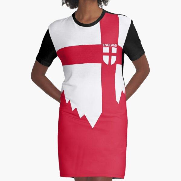 TEAM ENGLAND RED CROSS BY SUBGIRL Graphic T-Shirt Dress