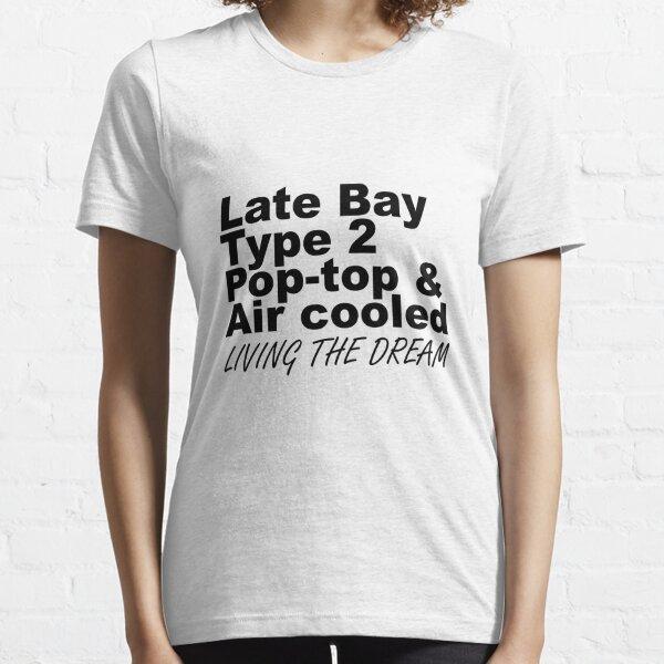 Late Bay Pop Type 2 Pop Top Black LTD Essential T-Shirt