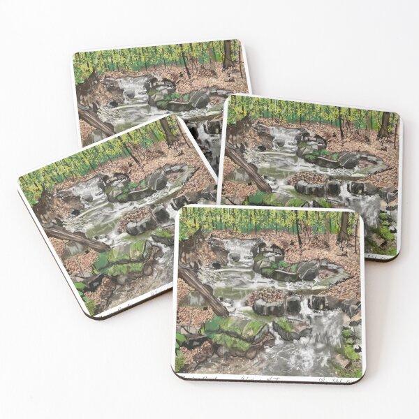 Flowing Creek Coasters (Set of 4)
