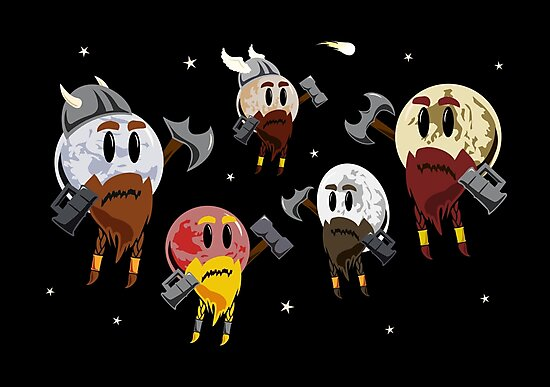 Dwarf Planets by jezkemp