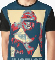 Harambe: Justice Graphic T-Shirt