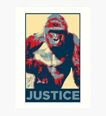 Lámina artística Harambe: Justicia
