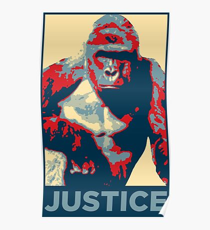 Harambe: Justice Poster