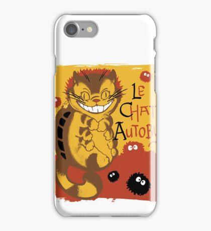 Le Chat Autobus - Catbus iPhone Case/Skin