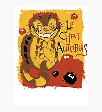 Le Chat Autobus - Catbus Photographic Print