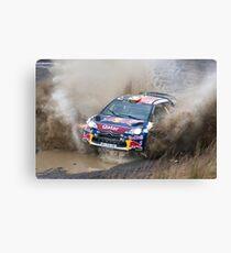 World Rally Car Canvas Print
