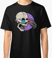 3D Glasses are Skull Cracking Fun! Classic T-Shirt