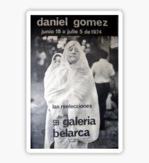 Daniel Gomez - Galeria Belarca Sticker
