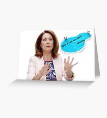 RHONDA FROM UTOPIA - KITTY FLANAGAN Greeting Card
