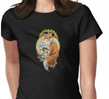 Fox; Keeper of Time Womens Fitted T-Shirt