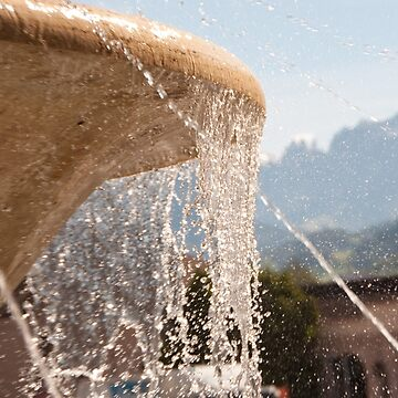 Fountain, Train Station Plaza,  Bolzano/Bozen by leemcintyre