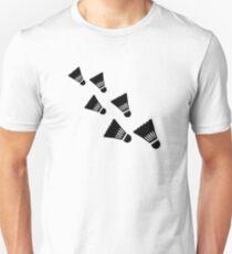 Badminton Shuttlecocks Unisex T-Shirt