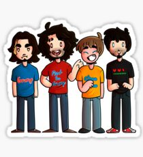 Game Grumps - Group Fanart Sticker