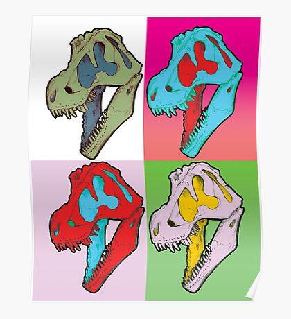 Tarbosaurus bataar Poster