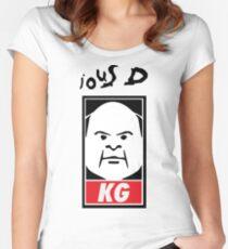Tenacious D - Kyle Gass KG Tailliertes Rundhals-Shirt