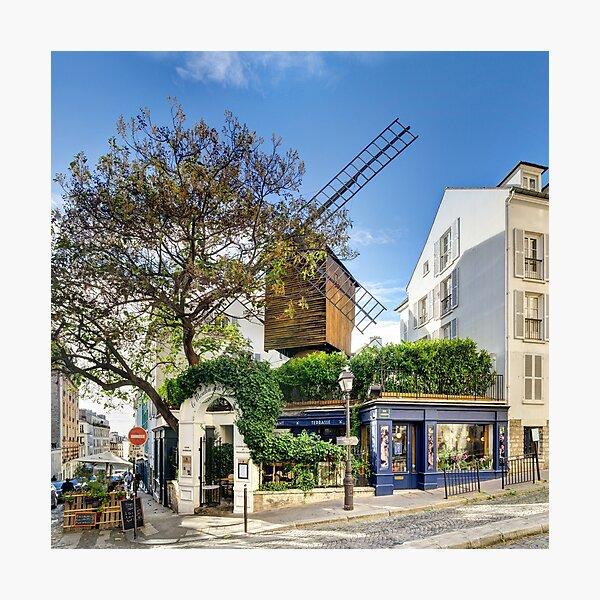 Le Moulin de la Galette Photographic Print