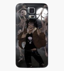 Funda/vinilo para Samsung Galaxy Spooky Scary Skeletons