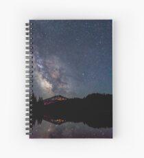 Milky Way over Mt. Bachelor Spiral Notebook
