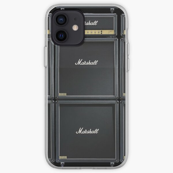 Marshall Stack of JCM800 Guitar Amps and Cabinets iPhone Soft Case