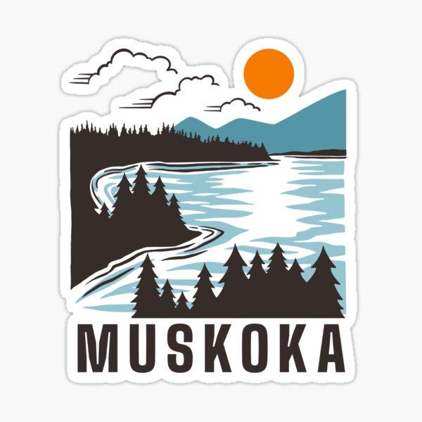 Muskoka Sticker
