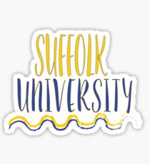 Suffolk University Sticker