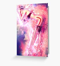 Cosmic Sexy Collection - Pinup #1 Greeting Card