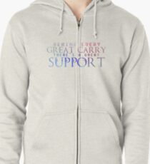 Great Support Zipped Hoodie