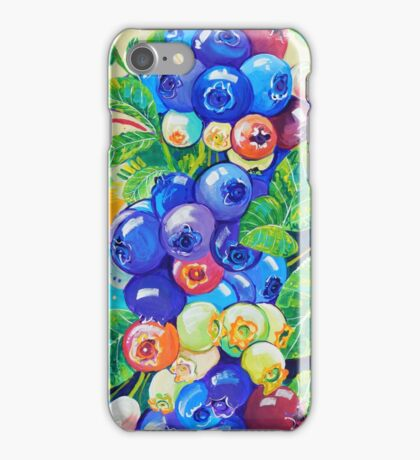 Blueberries iPhone Case/Skin