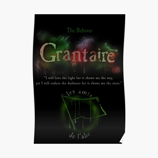 Grantaire Poster