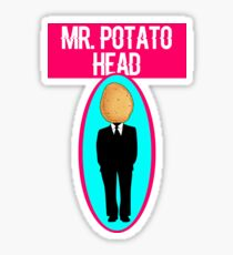 Mr. Potato Head Sticker