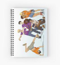 Cuaderno de espiral Escuadrón Demigod
