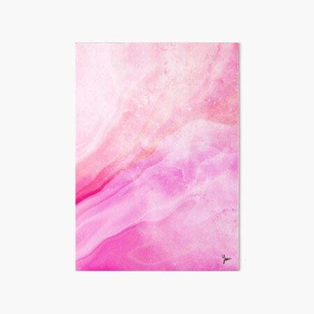 Burst with Joy in the Galaxy Art Board Print