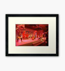 lenong dancer Framed Print