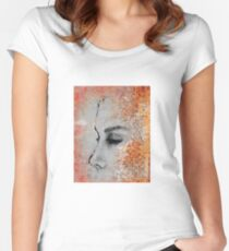 ... to make you happy Women's Fitted Scoop T-Shirt