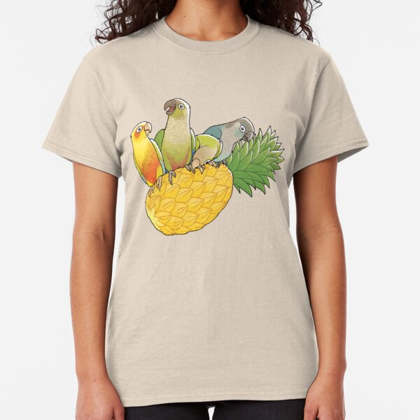 Green Cheek Paradise Classic T-Shirt