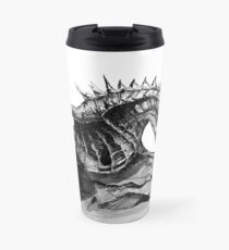 Paarthurnax, Skyrim, Elderscrolls, Fantasy Art, Video Games Travel Mug