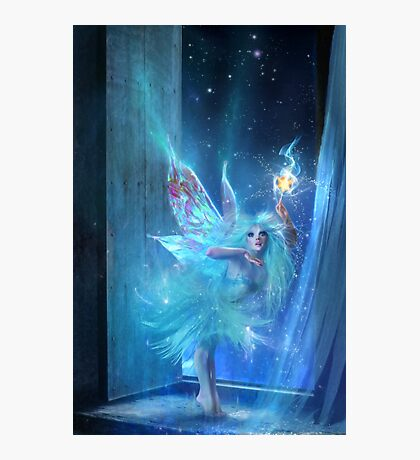 The Blue Fairy Photographic Print